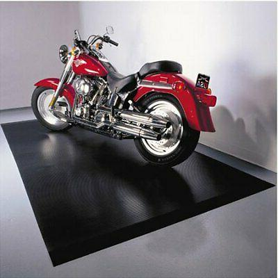 motorcycle floor mat black protector