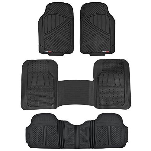 motortrend flextough rubber floor mats and liners