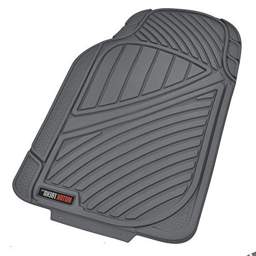 Motor Durable and Flexible Car SUV Mats Rows, Eco Liners, Ridgeline Design