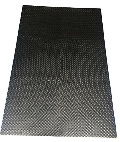 Ottomanson Multipurpose Interlocking Foam Mat Tiles Ft.