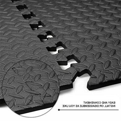 New 24 Sq Interlocking Foam Mat Exercise Pad USA