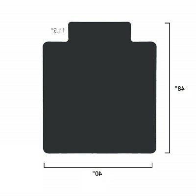 Office PVC Mat Protection 40 48 With Lip