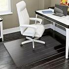 Home Desk Office Chair PVC Floor Mat Protector for Hard Wood