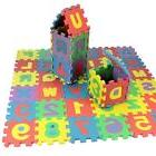 Set Puzzle Mat Learning ABC Alphabet Study Kids Letters Floo