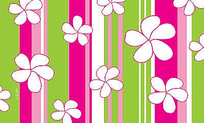 toland flowers and stripes 18 x 30