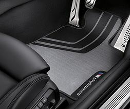 BMW M Performance Floor Mats Front and Rear F30 3 Series