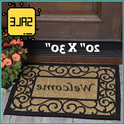 Mat Floor Rug Door Indoor Outdoor Rubber Entrance Welcome Do