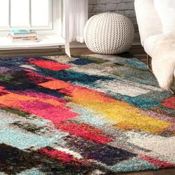Modern Area Rug Contemporary Abstract Carpet Living Room Mul
