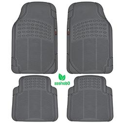 Motor Trend MT754GRAMw1 FlexTough Heavy Duty Car Floor Mats