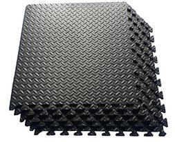 Ottomanson Multipurpose Anti-Fatigue Exercise Puzzle Mat Til