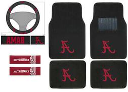 NCAA Alabama Crimson Tide Car Truck Front Seat Covers & Stee
