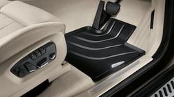 *NEW* BMW F15 X5 All-Weather FRONT Rubber Floor Mats, Black
