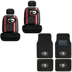 New NCAA Georgia Bulldogs Car Truck Front Rear Floor Mats &
