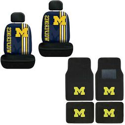 New NCAA Michigan Wolverines Car Truck Front Rear Floor Mats