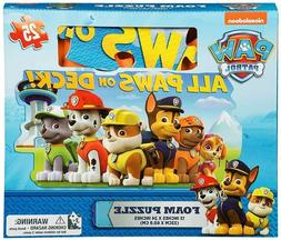 New Paw Patrol 25 piece Floor Foam Puzzle Mat Toddler Kids G