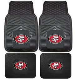 NFL San Francisco 49ers Front Rear Car Truck Rubber Vinyl Al