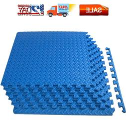Puzzle Exercise Mat, EVA Foam Interlocking Tiles, Protective