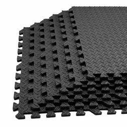 New Floor Mat Protector Interlocking Puzzle Foam Gym Fitness