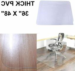 PVC Chair Mat Hard Floor Protector For Home Office Computer