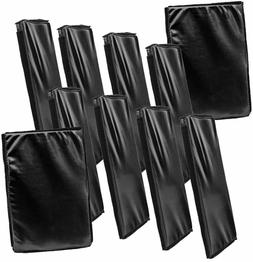 Set of 10 Black Wrestling Ring Floor Mats for WWE Wrestling