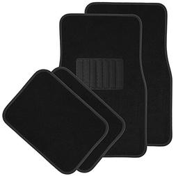 OxGord Solid Black Floor Mats