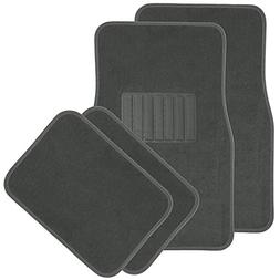 OxGord Solid Gray Floor Mats