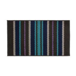 Striped Non Slip Entrance Floor Mat for Entry Debris Mud Tra